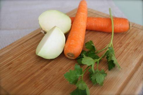 Karotten-Kohlrabi Salat